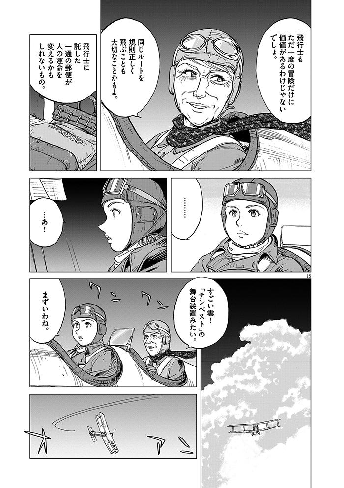 女流飛行士マリア・マンテガッツァの冒険 第二話15ページ目画像