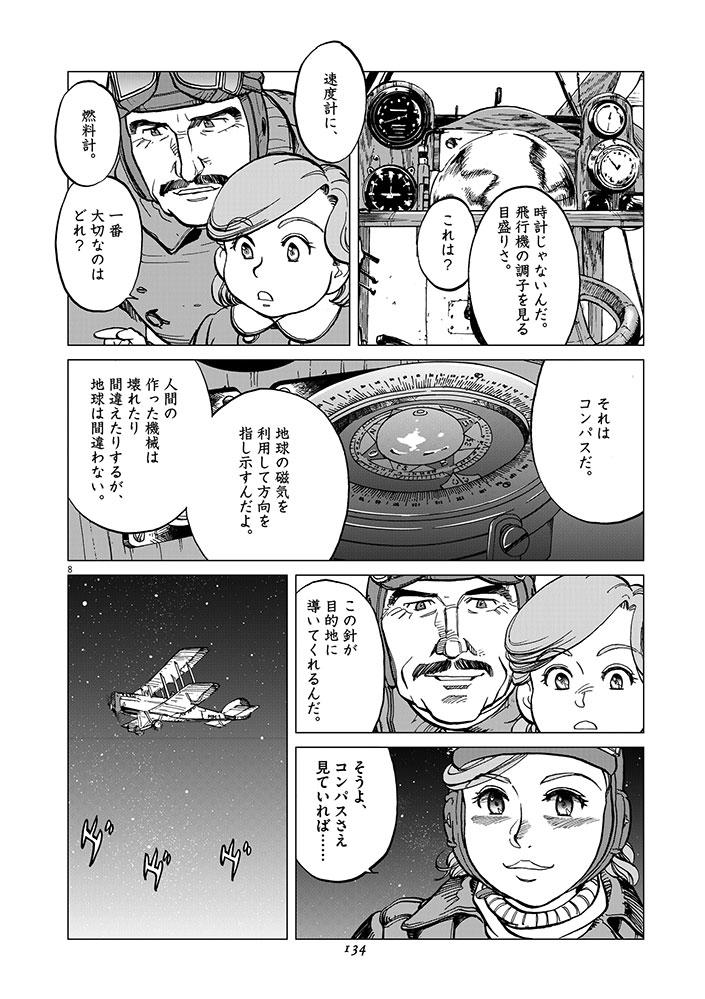 女流飛行士マリア・マンテガッツァの冒険 第六話8ページ目画像